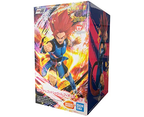 Bandai Spirits. Dragon Ball Legends Shallot SSJ God Ichiban Kuji OVERSEA Rising Fighters Super Saiyan Figure Estatua