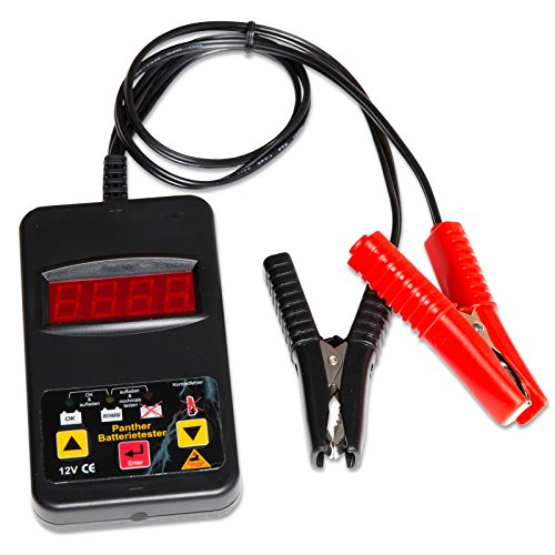 Batterietester Panther BT111 (CBT12XS) - 12 V Digital für Blei Gel AGM Batterie Prüfer