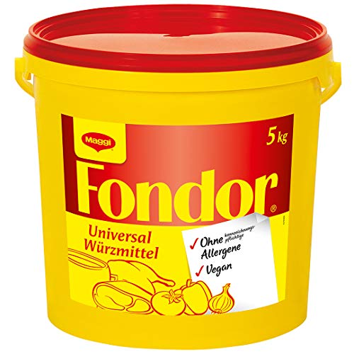 Maggi Fondor Universal-Würzmittel o.k.A. (vegane Würzmischung) 1er Pack (1 x 5kg Eimer)