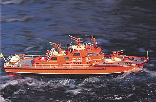 Düsseldorf Feuerwehrboot mit Beschlägen Maßstab 1:25 Krick Robbe RC Modellbausatz