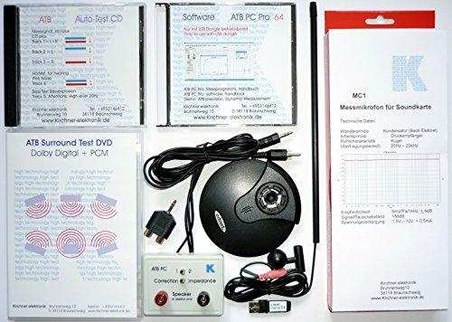 ATB PC Pro, professionelles Audo Messystem der Kirchner elektronik