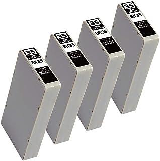 IC35(BK)-4本セット (目印:色エンピツ) エプソン用互換インクカートリッジ 残量表示 新互換チップ搭載 QR説明書 【0619製】 【型番】 PM-A900 PM-A950 PM-D1000