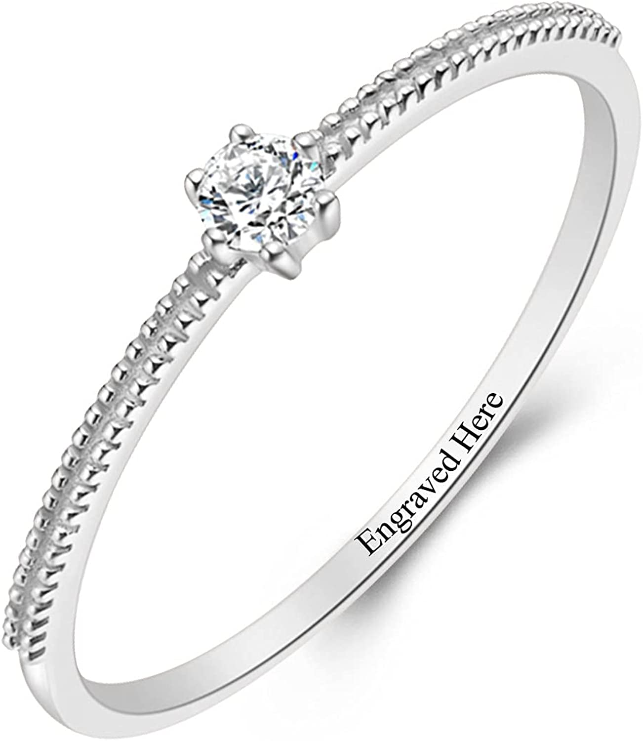 Animer and price revision DIYA Classic 6-Prong 1 Carat Moissanite Finally resale start Sterling Cut Silve Round