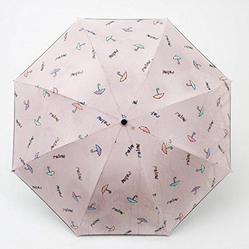 SFSYDDY-water verkleuring zon paraplu zonnebrandcrème Uv bescherming zonnekap Sen paraplu regen en water dual-gebruik