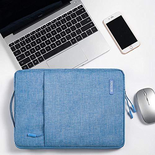 Practical Laptop Sleeve Bag For Ipad Pro 12 9 Case 2020 Zipper Handbag Women Men Waterproof Briefcase Cover For Funda Ipad Pro 12.9 Case (Color : Blue, Size : For ipad pro 12.9)