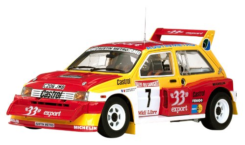 MG Metro 6R4 (Didier Auriol - Champion de France 1986) Diecast Model Car