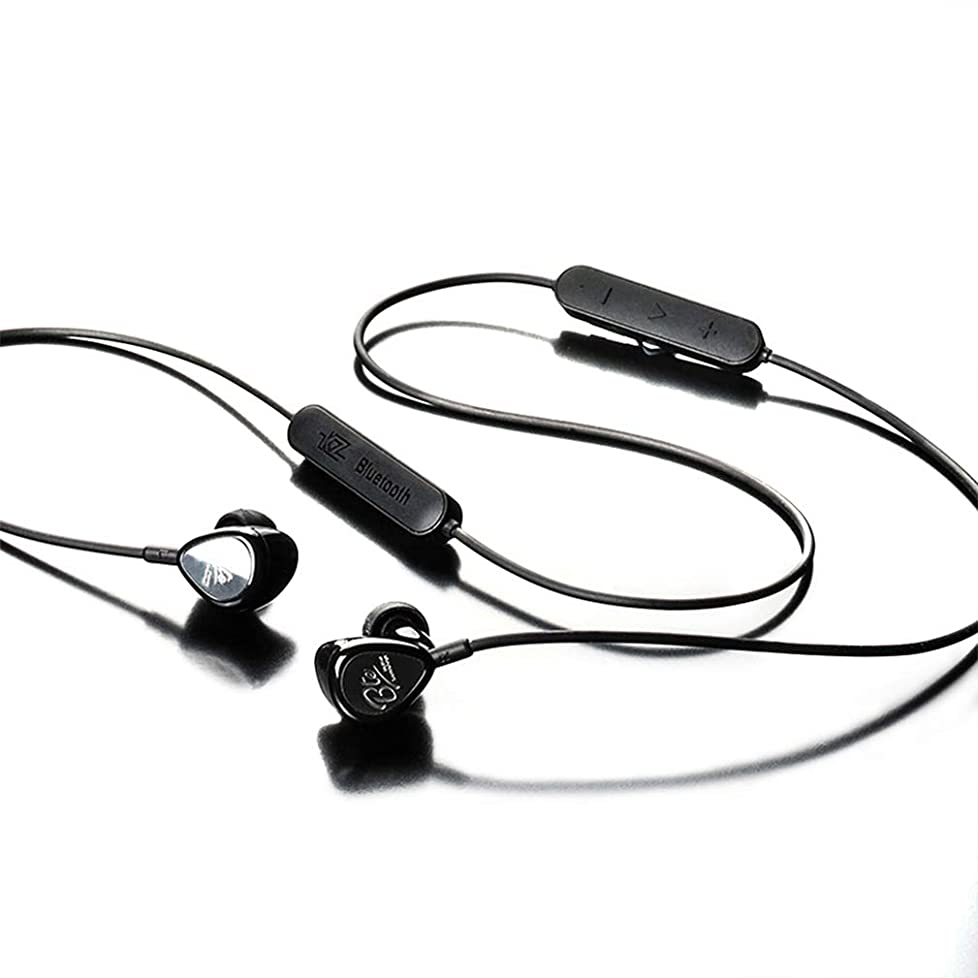 病セレナ暗殺するKZ-BTE ワイヤレス Bluetoothイヤホン 運動 重低音 HIFI 通用式(ブラック)