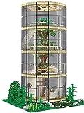 Kit de bloques de construcción de casa de árbol transparente con iluminación, 3495 piezas Nano Mini kits de bloques de construcción, DIY regalos de juguete para niños. 85016,3459pcs