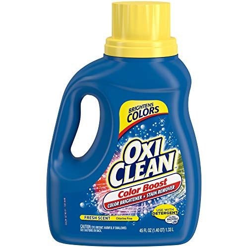 Product Image of the OxiClean Color Boost Color Brightener plus Stain Remover Liquid Fresh Scent 45oz