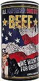 All American BBQ Beef 350g - Für perfekt gegrilltes Beef - Authentisch Amerikanische Barbecue Trockenmarinade Für Unverwechselbaren Grillgenuss