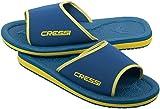 Cressi Lipari Chanclas para Playa y Piscina, Unisex, Azul/Amarillo, 29 EU