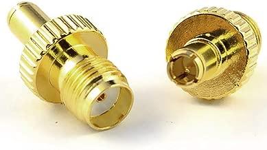 Aigital Antenna Adapter TS9 Male Plug to SMA Female Adapter Plug RF Coax Connector Adapter (2 Pack)