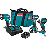 Makita Lithium-Ion Brushless Cordless 3-Pc. Combo Kit