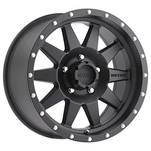 "Method Race Wheels 301 The Standard Matte Black 15x7"" 5x4.5"", 6mm offset 3.75"" Backspace, MR30157012506N"