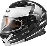 Best Modular Snowmobile Helmets - GMAX MD-01S Descendant, DOT Approved Modular Helmet, Dual Review