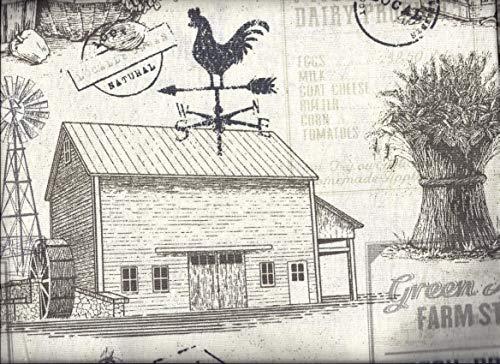 "Farmhouse Country Fresh 16"" Valance"