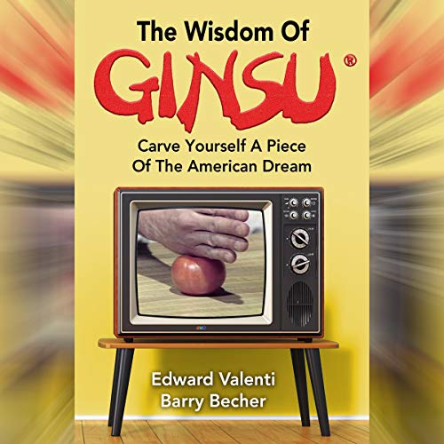 The Wisdom of Ginsu audiobook cover art