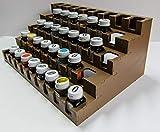 GameCraft Miniatures Paint Rack - Testors Square Enamels