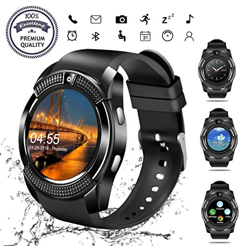 Smart Watch, Bluetooth Smartwatch Touch Screen Wrist Watch...