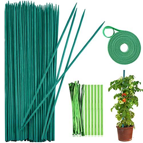 Varillas soporte para plantas,palos para plantas,Estaca de Planta,Palos para Planta jardín,varillas...