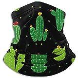 Linger In Cactus Icon Collection Calentador de Cuello Polaina Pañuelo Bufanda Deportiva