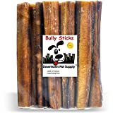 Downtown Pet Supply 15 CM (6 inch) Supreme Bully Sticks, Jumbo Extra Thick 15 CM (6 inch) 15 Pack