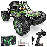 [Sturdy And Durable With High Strength Materials] - This 1:10 scale remote control racing car is made of Engineering Nylon, the high-performance advantages of this material in terms of durability, corrosion resistance, and hit resistance make this ca...