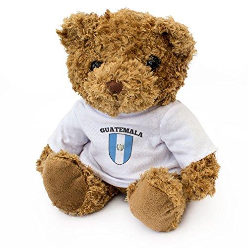 London Teddy Bears 4Z-CXX5-2CFP Guatemala vlag, bruin, 20 cm