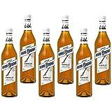 Sirope de vainilla sin alcohol Marie Brizard - Caja de 6 Botellas de 70 cl