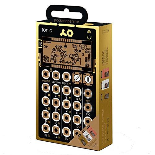 Teenage ENGINEERING AB TE010BL030po metal Series super set, nero/oro/argento/rame, set di 7pezzi