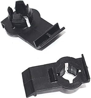 Sangmei Suporte de clipe do regulador de janela frontal esquerdo direito 51338254781 compatível com BMW E53 X5 CV#