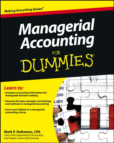 Managerial Accounting For Dummies (English Edition)
