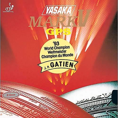 Yasaka Belag Mark V GPS Optionen 2,3 mm, schwarz