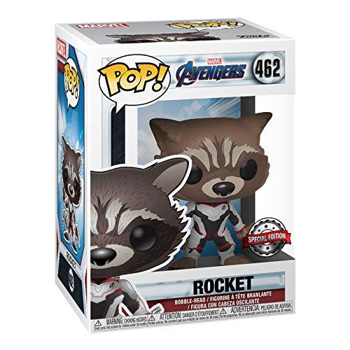 Funko POP! Marvel: Guardianes de la Galaxia: Rocket Exclusivo