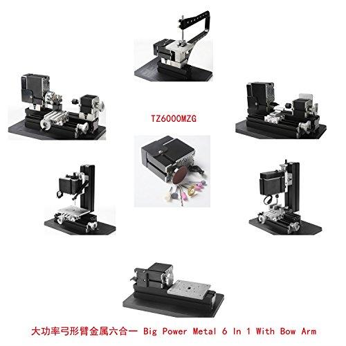 Why Should You Buy XIAOF-FEN Interesting Motorized Mini Metal Working Lathe Machine DIY Tool Big Pow...