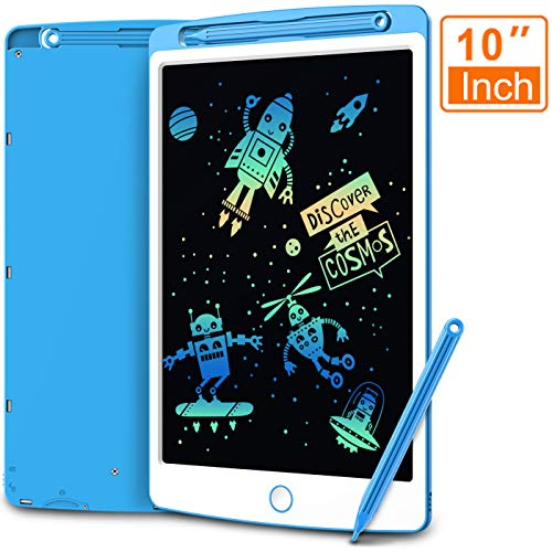LCD Writing Tablet, Coovee 12 Inch Digital Ewriter Electronic Graphics Tablet Portable Mini Board Handwriting Pad Drawing Tablet with Memory Lock Suitable for Kids Home School Office