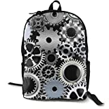NiYoung Men Women Laptop Backpack Business Travel Anti Theft Daypack Durable College School Bookbag, Mechanical Engineering Gear