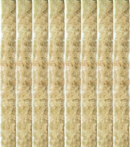 Arsvita Flauschvorhang Türvorhang 90x200 cm in Beige - viele Variationen