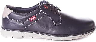 280135ee Zapato de Cordones Muy cómodo - Ancho - Piel - Plantilla Extraíble - Notton  166