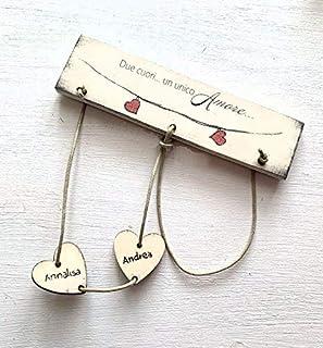 San Valentino - Rompicapo dell'amore - Gioco festa degli innamorati - Regalo per Lui - Regalo per lei personalizzato