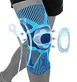 Rodillera deportiva , Rodillera Menisco y Ligamentos Ajustable Transpirable y Antideslizante Neopreno Compresión para Correr Caminar Ciclismo Fútbol Baloncesto Unisex