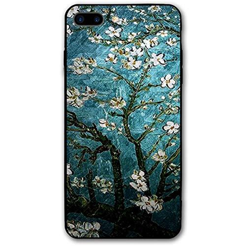 ZARLAY für iPhone 7/8 Plus / 8 Plus Hülle Vincent Van Gogh Mandel blühende stoßfeste Anti-Fingerabdruck Kratzfeste Handyhülle