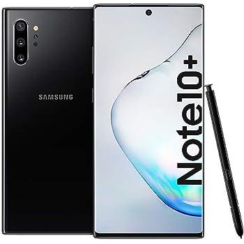 "Samsung Galaxy Note 10 Plus (SM-N9750/DS) Dual SIM 256GB/12GB, 6.8"" Factory Unlocked GSM, International Version No Warranty - Aura Black"