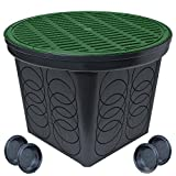 StormDrain 2-Pack FSD-3017-GRN 20-in. Large Round Catch Basin with Green Grate Kit
