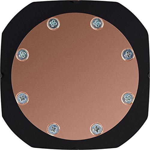 Corsair Hydro H75 2018 Sistema di Raffreddamento a Liquido per CPU, Radiatore da 120 mm, Doppia Ventola, Bianco LED/Nero
