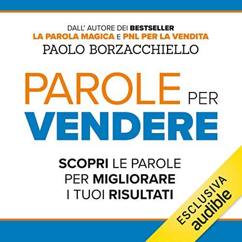 Parole per vendere audiobook cover art