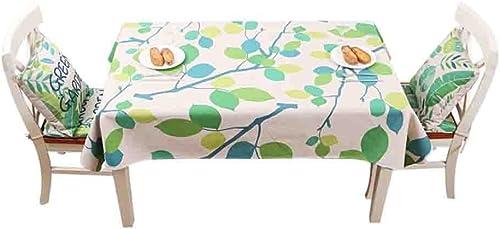 muy popular ZHUOBU Manteles de de de algodón Fresco verde Mesa de Centro Estera de Tabla de Tela de Comedor Estera  muchas sorpresas