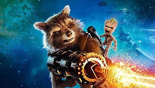 Guardians of The Galaxy: Rompecabezas Animation Juego 300/500/1000/1500 Colección de juguetes educativos (300 piezas)