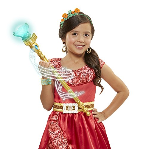 Disney Elena of Avalor Magical Scepter of Light with Sounds, multicolor (01838-1-SOC)