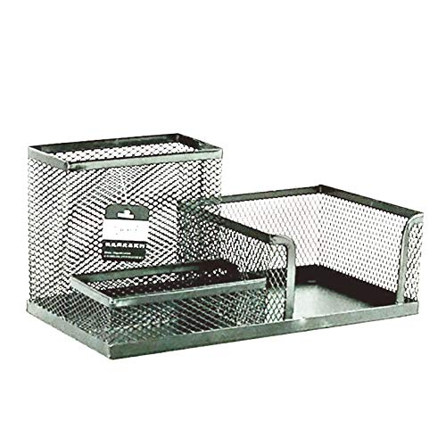 Janly Clearance Sale Desk Organizer for Files Sturdy Desktop Organizer For Home Office School College , Home Decor forHome & Garden , Easter St Patrick's Day Deal (Silver)